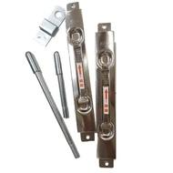 SFC184-2 鋁門用不鏽鋼天地閂 防盜鎖 暗閂 隱藏式天地栓(隱蔽式天地閂 天地門閂 門鎖門栓)