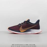 รองเท้ากีฬาคลังสินค้าพร้อม Original_Nike_Zoom_Pegasus Turbo 35th รุ่น Turbo รองเท้าวิ่งมาราธอน Marathon
