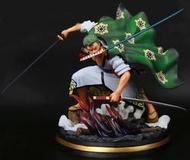 《ONLY TOY》優質港版 海賊王 索隆 十郎 和之國 和服 三刀流 特效場景 高約30公分