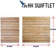 [CARTON] Swiftlet Plank Wood Corner (Kayu Sudut Rata Rumah Walet) for Swiftlet Farming