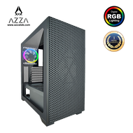 AZZA ATX Mid Tower Tempered Glass ARGB Gaming Case HIVE 450 - Black