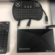 I live-Diamond A9 電視盒 二手 4K Ultra HD 影音劇院 KODI
