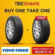 BUY ONE TAKE ONE 265/60 R 18 Toyo Tires Open Country U/T SUV/4x4 Tires