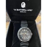 現貨 全新 BAPE X SEIKO ABC CAMO MECHANICAL DIVERS WATCH 聯名潛水錶