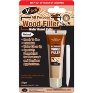 VT-135 All Purpose Wood Filler Pengisi Kayu - Water Based Putty (50G)