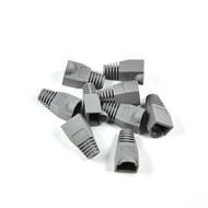 【生活家購物網】 RJ45 水晶頭 保護套 網線水晶頭保護套 塑料套 橡膠套一包100個