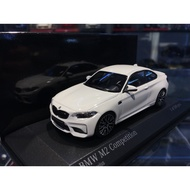 吉華科技@MINICHAMPS BMW M2 Competition 白色 1/43