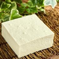 鹽滷木棉豆腐330g 有機大豆製作 豆香濃郁 口感綿密 無消泡劑 無防腐劑