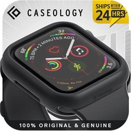 Caseology Nero Designed for Apple Watch Case for 44mm/40mm Series 6 /Series 5 / Series 4