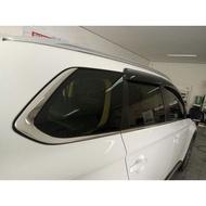 三菱 MITSUBISHI 14-18 OUTLANDER 車窗飾條 OUTLANDER 下車窗飾條 6件組