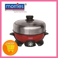 MORRIES MS 88MC 2L MULTI COOKER (STAINLESS STEEL HOT POT/ NON STICK