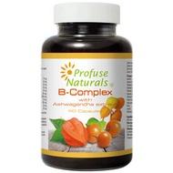 優沛康【沛然 Profuse Naturals】沛康南非醉茄+B群綜合膠囊 (60顆/瓶) 單瓶入
