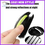 Car Reflective Sticker Rearview Mirror Reflective Sticker Warning Sticker Useful Valuable Reflective Multi-color Paper