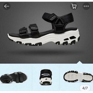 Skechers 時尚休閒系列 DLITES 涼鞋 31514BLK  (6和7號現貨)