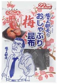 煮湯好幫手~日本 鹽部長 鹽昆布-梅子風味 10g