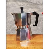 [4YOU] MOKA POT 6CUP+ช้อน+กาแฟ 100กรัม อุปกรณ์ เครื่องชงกาแฟ อุปกรณ์กาแฟ ชงกาแฟ ดริปกาแฟ กาแฟ ทำกาแฟ