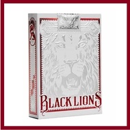 David Blaine Black Lions Red Edition Playing Cards