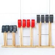 現貨小大馬扎實木繩編織帶手提寫生釣魚戶外便攜折疊家用椅子凳子折疊椅摺疊凳露營出遊小折疊椅戶外必備