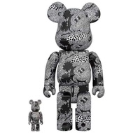 【BE@RBRICK】庫柏力克熊 Keith Haring Mickey Mouse 100% &400