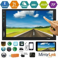 7 inch HD Touch Screnn Car MP5 Player FM Radio Bluetooth4.0 USB AUX TF RCA 7764B