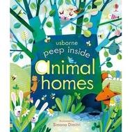【Usborne】Peep Inside Animal Homes 動物的家 翻翻操作書