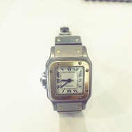 Cartier santos機械女錶