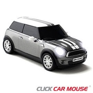 【Click Car Mouse】MINI Cooper S 無線nano滑鼠-銀色款(福利品)
