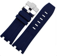 28mm Rubber Watch Strap Band OEM Style for AP100 Audemars Piguet Royal Oak Offshore Multi Camo Color