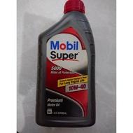 美國原裝 美孚 MOBIL Super 5000 10W40  10W-40 引擎機油