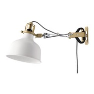 IKEA RANARP 掛牆式/夾式聚光燈, 淺乳白色