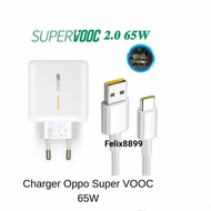 Price Charger Oppo Super Vooc Type C 65w 100% Original Oppo Reno 5 Reno5 - Shell Only