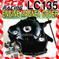 SCK RACING LC LC135 4S YAMAHA ENGINE ENJIN MAGNET COVER WITH BEARING AND NUT