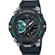 CASIO 卡西歐G-SHOCK 嘻哈風格碳纖維核心防護構造-灰藍色(GA-2200M-1A)原廠公司貨