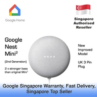 GOOGLE NEST MINI 2ND GENERATION / 1 YEAR GOOGLE SINGAPORE WARRANTY