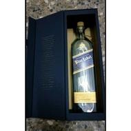 Johnnie Walker藍牌約翰走路空酒瓶/蘇格蘭約翰走路空酒瓶/酒瓶收藏