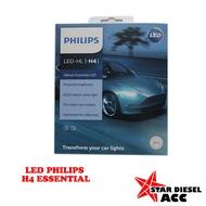 H4 Philips Ultinon Led Essential Light Hl