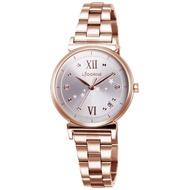 【LICORNE】力抗錶 永恆時光系列 優雅手錶(粉/玫瑰金 LT142LRWS)