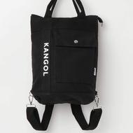 全新真品【KANGOL】3WAY 後背包 側背 時尚 學院風 18秋冬新款 日本限定