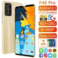 Huawe 5.8 screen p48 pro Android phone 6+128GB new phone smartphone 4G phone cheap phone