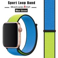 สายสำหรับ apple watch วง 44 มิลลิเมตร / 40 มิลลิเมตร applewatch42 มิลลิเมตร 38 มิลลิเมตรสร้อยข้อมือ c orrea p ulseira ไนล่อนห่วงสายนาฬิกาข้อมือ iw atch 5 4 3 ชุด=Strap For Apple Watch band 44 mm/40mm applewatch 42mm 38mm bracelet correa pulseira nylon