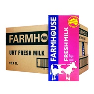 FARMHOUSE UHT Fresh Milk (12 x 1L)