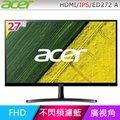 Acer ED272 A 廣視角螢幕(27型/FHD/HDMI/IPS)