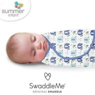 【Summer infant】嬰兒包巾 純棉 S(戲水小象)
