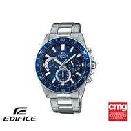[ของแท้] CASIO นาฬิกาข้อมือผู้ชาย รุ่น EDIFICE EFV-570D-2AVUDF นาฬิกา นาฬิกาข้อมือ สายสแตนเลส นาฬิกา Analog