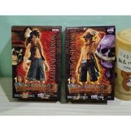 海賊王 魯夫 艾斯 POP DX 10週年 特別版 火拳艾斯 23cm  港版公仔 模型 景品 收藏 人偶