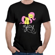 GOOD COME FROM Little Name Is Pony Flutter You Do Not SHY Yay Mens Black T-Shirt - intl