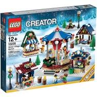 免運~ LEGO 10235  Creator Winter Village Market  全新 有盒未拆