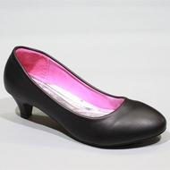 รองเท้า 2706-1,1A,1B,F1,F1A,F1B รองเท้าคัชชูนักศึกษา รองเท้าส้นสูง รองเท้าคัชชูสีดำ FAIRY