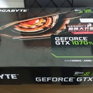 技嘉Gigabyte GTX1070ti WINDFORCE 8G 顯示卡