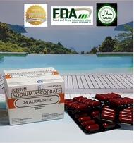 24 Alkaline C  Authentic Superbrands Halal Certified 100 caps